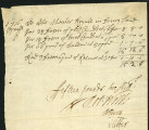Colley Cibber, Robert Wilks, Barton Booth autograph bill, 1716 April 6